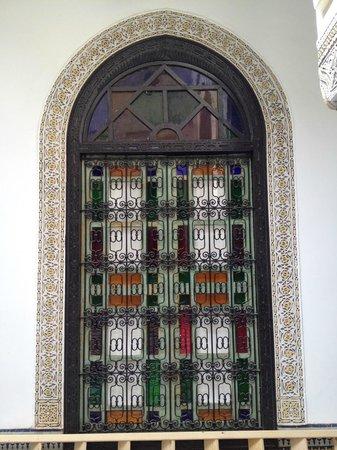 Palais Bahia Fes: particolare finestra