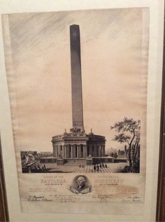 President James K. Polk Home & Museum: Washington Monument Original Design