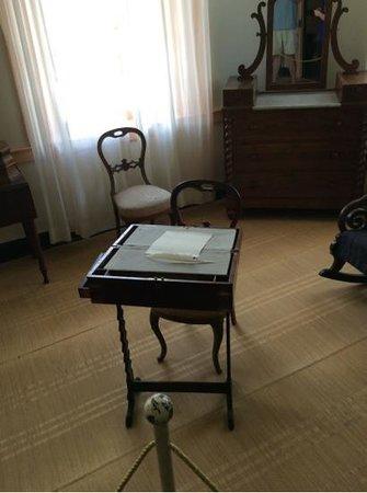 President James K. Polk Home & Museum: Folding Traveling Desk