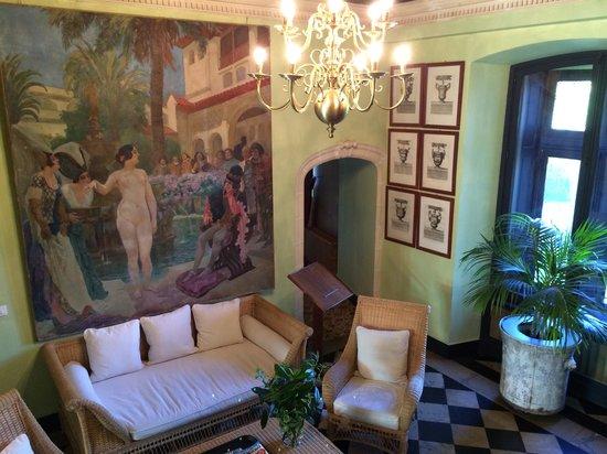 Chateau de la Bourdaisiere : Sun Room