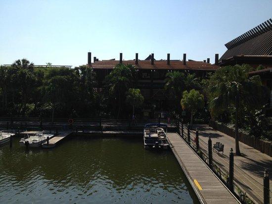 Disney's Polynesian Village Resort: View from Fiji 2nd Floor