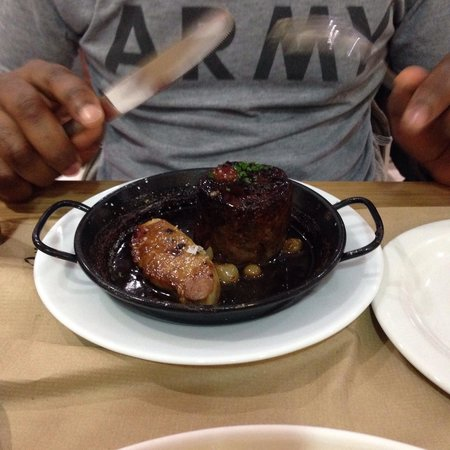 TocaTeca: Oxtail and duck. My boo said it was succulent meat