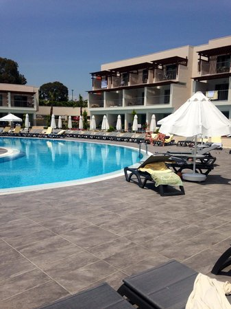 Barut Hemera : Our room with private pool