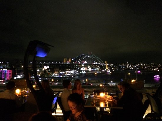 Cafe Sydney: From our table
