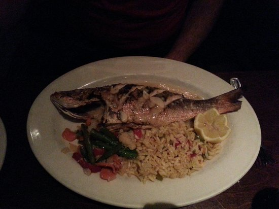 Zuckerello's: Our friend had the whole snapper, he said it was delicious.  The plate was empty!
