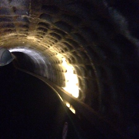 Dudley Canal Trust Trips: In one of the tunnels