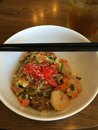 Kusaka Japanese Restaurant: Yaki noodles with shrimp