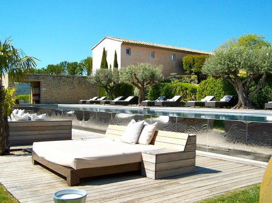 Domaine des Andeols : Perfect setting, perfect pool