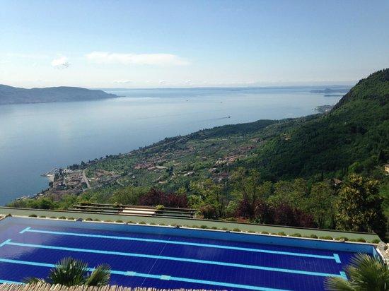 Lefay Resort & Spa Lago di Garda: Blick auf den See