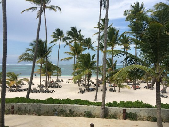 Barcelo Bavaro Beach - Adults Only: Ocean/Beach view from our room balcony