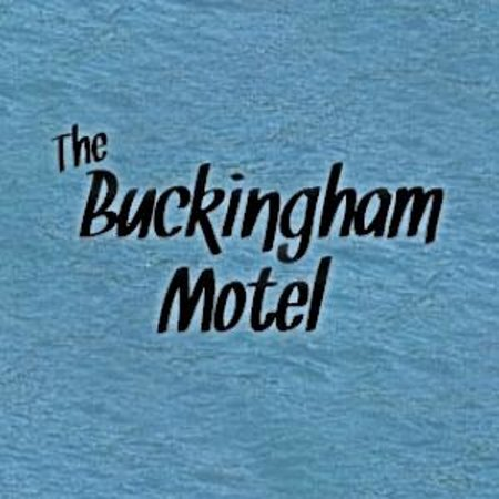 Buckingham Motel: Our Logo