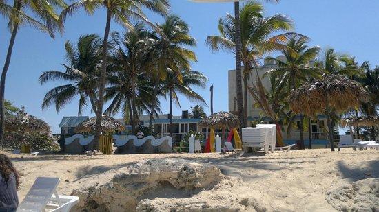 Gran Caribe Club Atlantico: Vista del hotel desde la playa