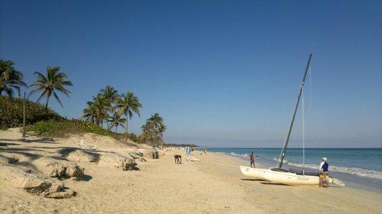 Gran Caribe Club Atlantico: Playa del hotel4