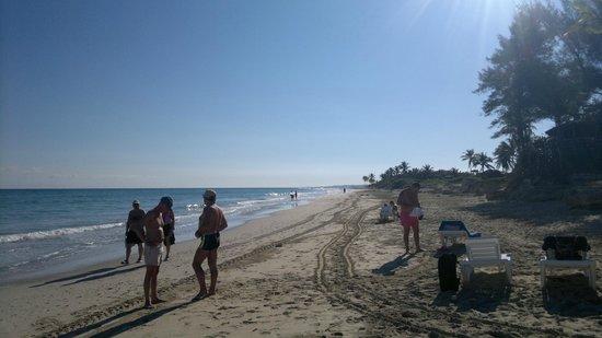 Gran Caribe Club Atlantico: Playa del hotel 3