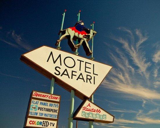 Motel Safari: Neon Sign