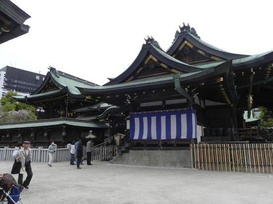 Osaka Tenmangu Shrine: Shrine's 本社