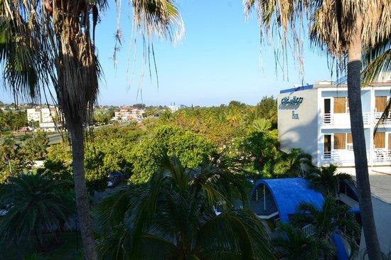 Gran Caribe Club Atlantico: Vista desde la habitacion piso 3