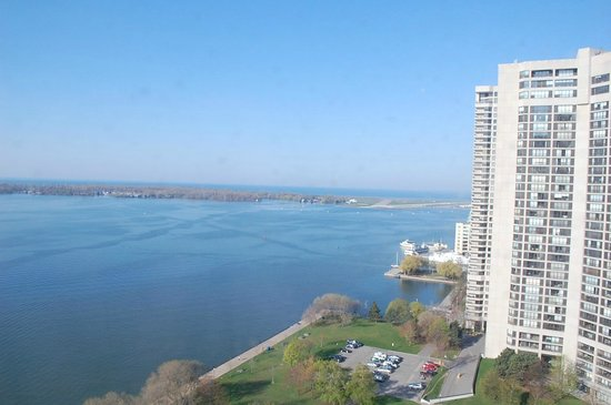 The Westin Harbour Castle: View from our Harbourview room