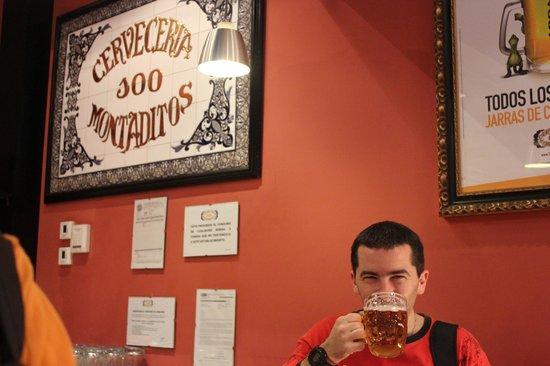 Cerveceria 100 Montaditos: hay que darse el gustito!