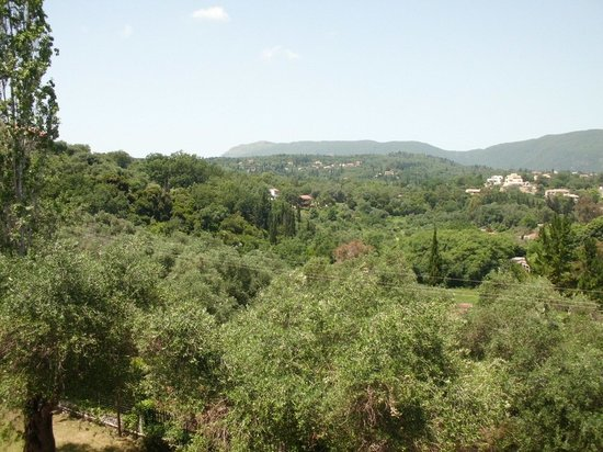 Hotel Magna Graecia: View from room 220 (above the dining room).