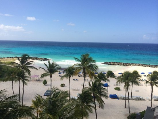 Hilton Barbados Resort: Stunning view from our room!