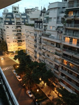 Mio Buenos Aires: View from my room on 11th floor