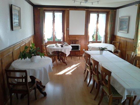l'Auberge : salle à manger