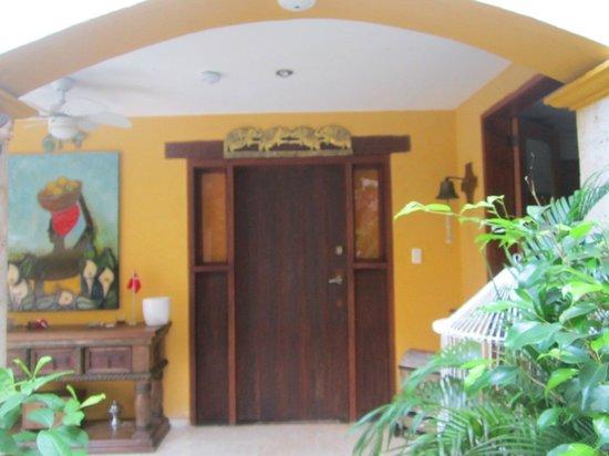 Hotel Casa Gloria: Entrada