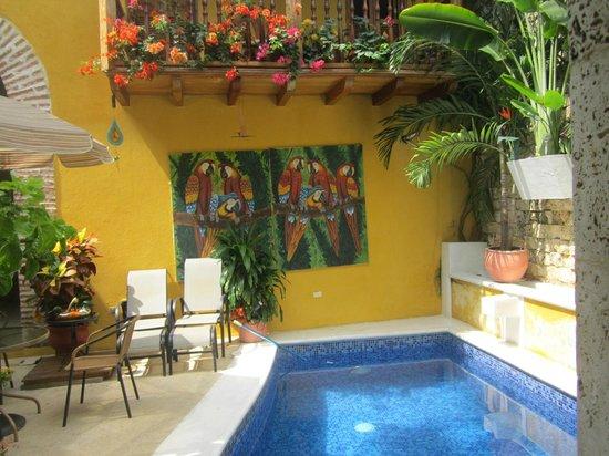 Hotel Casa Gloria: Área de piscina