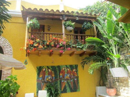 Hotel Casa Gloria: Varanda dos quartos