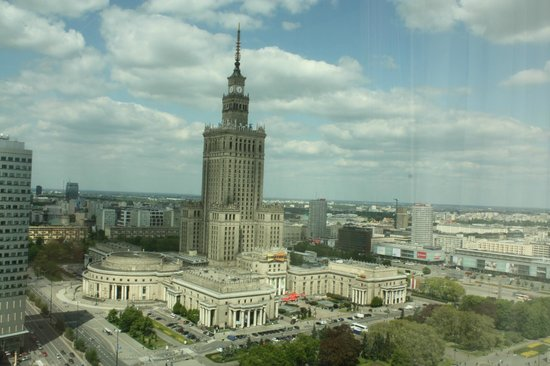 Warsaw Marriott Hotel : Palace of Culture View from the room