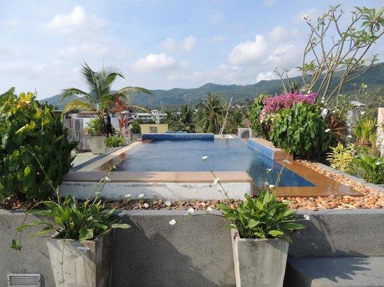 Ploen Chaweng Koh Samui: Rooftop pool