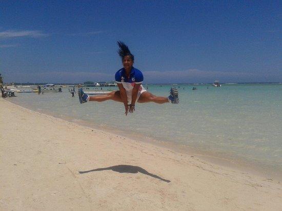 BelleVue Dominican Bay: Un poco de saltos jejeje