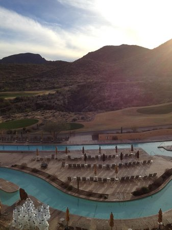 JW Marriott Tucson Starr Pass Resort & Spa: This was the view from my room.  Pool side!!