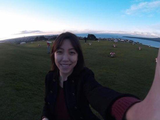 Mount Victoria Reserve: me!