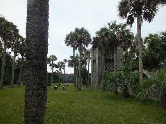 Huntington Beach State Park: Inside the Courtyard