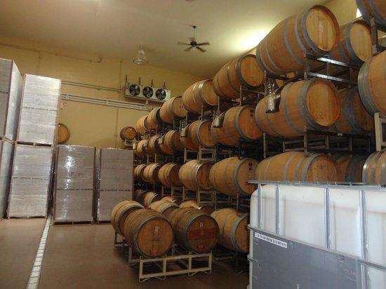 Richard Childress Vineyards : Wine making