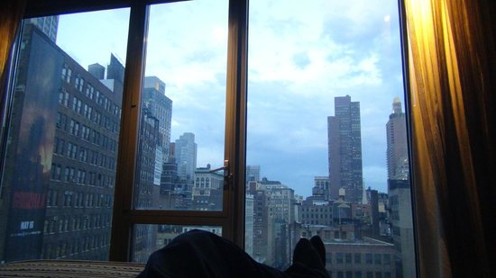 Kimpton Hotel Eventi: View from the bed