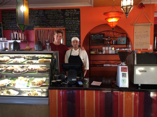 Abracadabra Cafe Bar: New owner Justin Genest and sous chef Prabhat