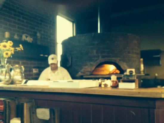 Pizzeria Bianco: Bianco oven; where the magic happens.
