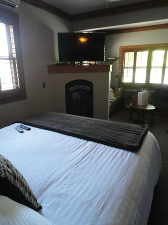 Wine Way Inn : Lokoya room.
