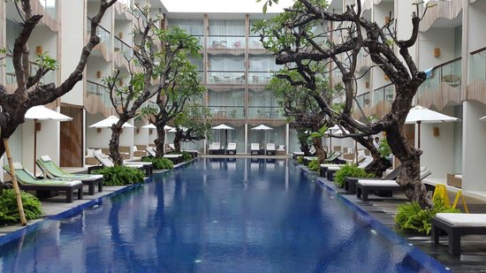 The Bene Hotel : Pool Area (May 2014)