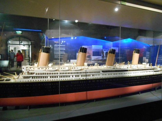 Merseyside Maritime Museum : Another Ship on Exhibit
