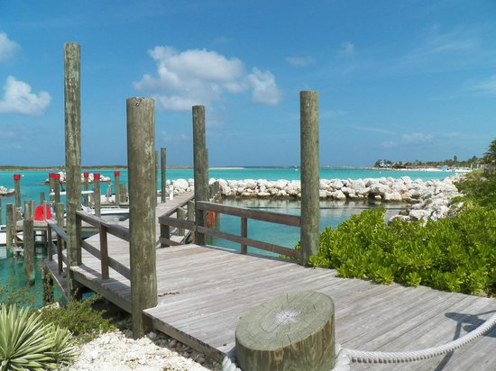 The Pier at Castaway Cay
