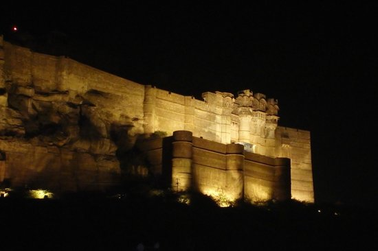 Baba Haveli Guesthouse : Jodhpur Fort / Night