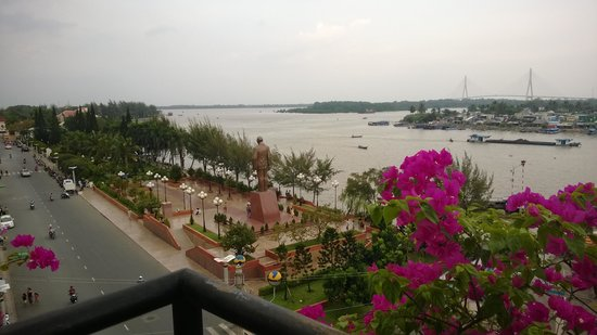Nam Bo Boutique Hotel : view from restaurant/bar v