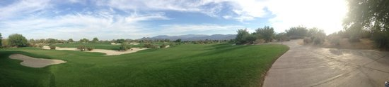 Desert Willow Golf Resort : Gorgeous Fairway