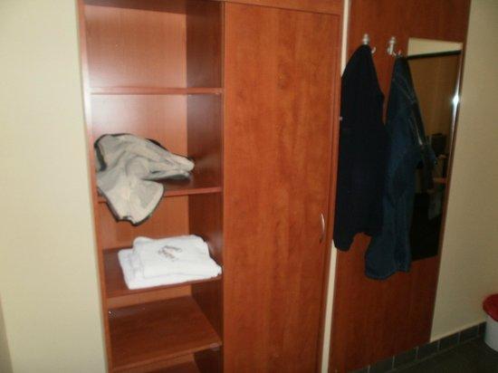 Hotel Vltava: wadrobes