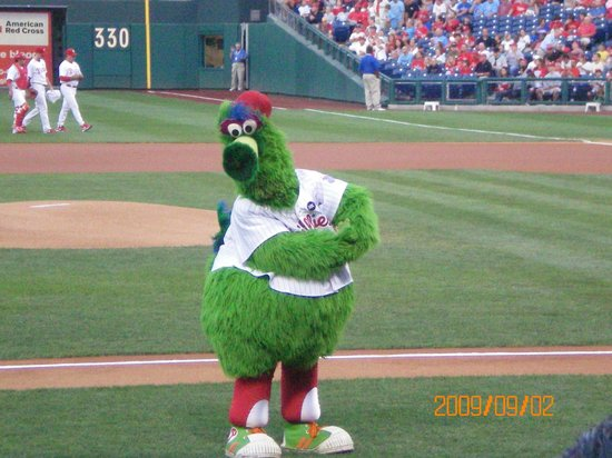 Citizens Bank Park: The Phanatic