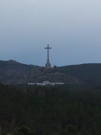 Valle de los Caídos from a distance